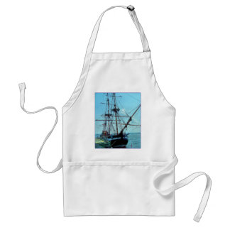 Hector Replica Pictou NS Adult Apron