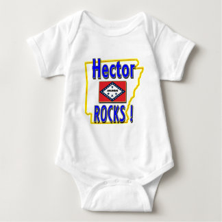 Hector Rocks ! (blue) Baby Bodysuit