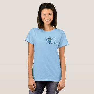 Hector the Polar Bear Goes Fishing T-Shirt