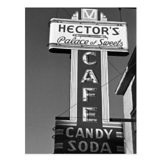 Hector's Palace of Sweets, 1930s Postcard