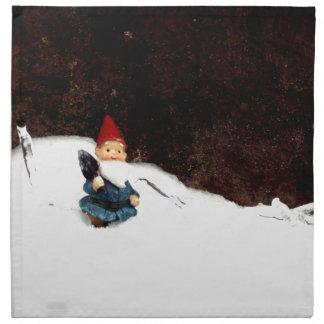 Hectors Snow Day Cloth Napkin