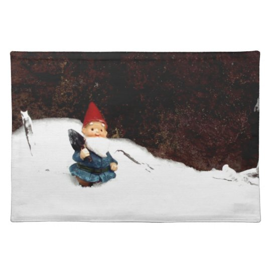 Hectors Snow Day Cloth Placemat