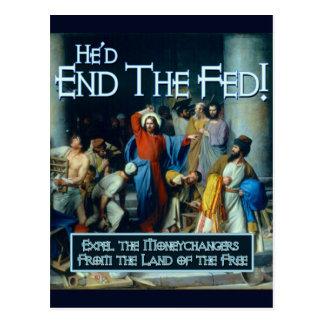 He'd End the Fed Postcard