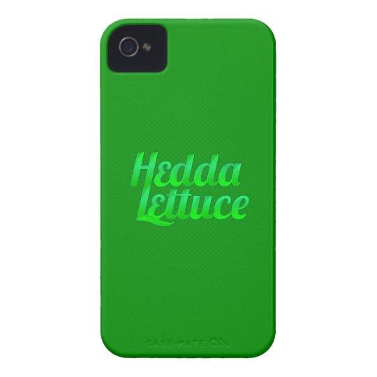Hedda Lettuce iPhone Case-Mate Case (Green)
