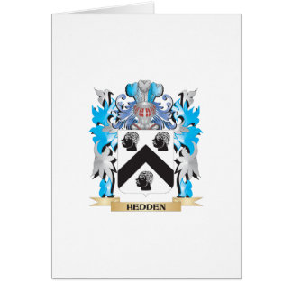 Hedden Coat of Arms - Family Crest Cards
