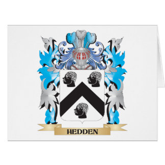 Hedden Coat of Arms - Family Crest Greeting Card