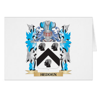 Hedden Coat of Arms - Family Crest Greeting Cards