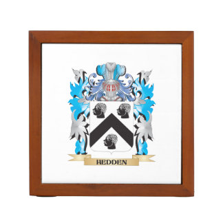 Hedden Coat of Arms - Family Crest Desk Organizers