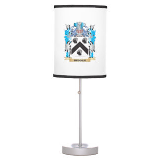 Hedden Coat of Arms - Family Crest Desk Lamps