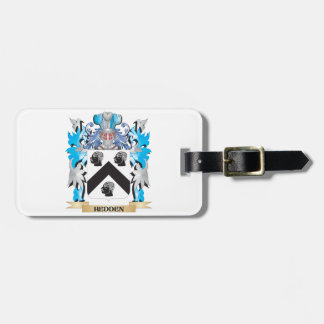 Hedden Coat of Arms - Family Crest Tags For Luggage