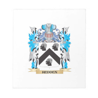Hedden Coat of Arms - Family Crest Scratch Pad