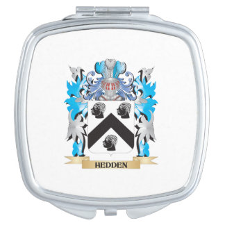 Hedden Coat of Arms - Family Crest Makeup Mirrors
