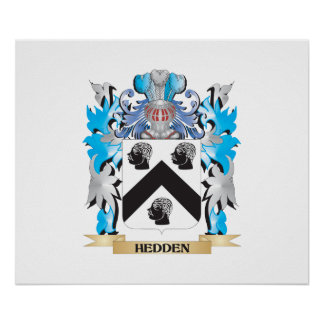 Hedden Coat of Arms - Family Crest Poster