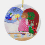Heddy and Ben Christmas Tree Ornament