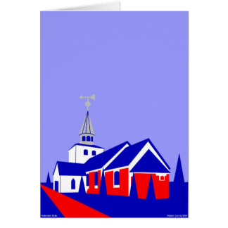 Hedensted Kirke - The Church in Hedensted Greeting Card