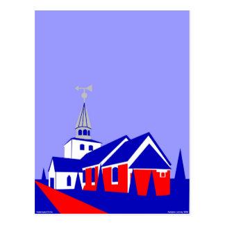 Hedensted Kirke - The Church in Hedensted Postcard