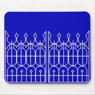Hedensted Kirkegårds Låge - The Gate to Hedensted  Mouse Pad