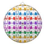 Hedera de las joyas: Modelo del color de Babysoft Tablero Dardos
