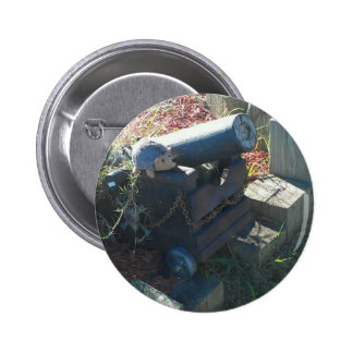 hedge cannon pinback button