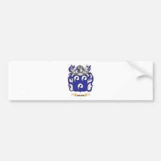 Hedge Coat of Arms (Family Crest) Car Bumper Sticker