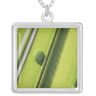 Hedge in The Hamptons Silver Plated Necklace