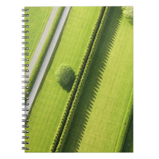 Hedge in The Hamptons Spiral Note Books