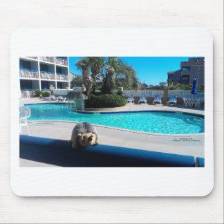 hedge resort mouse pad