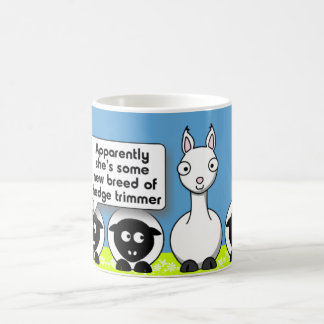 Hedge Trimmer Coffee Mug