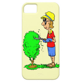 Hedge trimming iPhone 5 covers