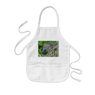 Hedgehog #1 kids' apron