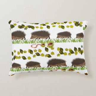 Hedgehog Accent Pillow