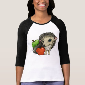 Hedgehog and apples T-Shirt