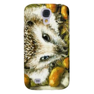 Hedgehog and yummy mushrooms galaxy s4 covers