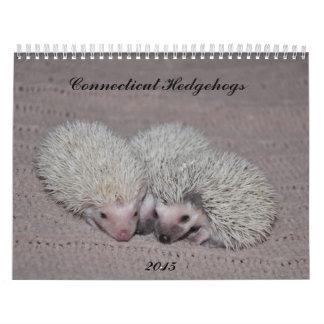 Hedgehog babies 2015 wall calendar
