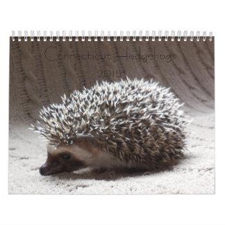 Hedgehog baby calendar