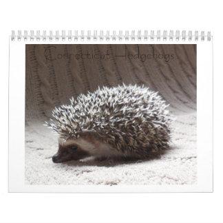Hedgehog baby calendar 3