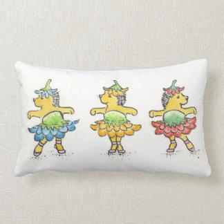 Hedgehog ballerinas pillows