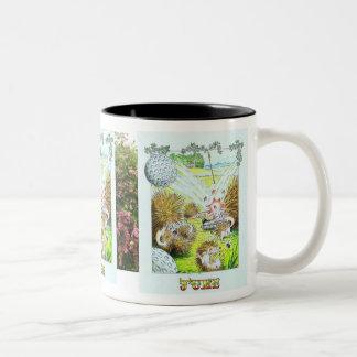 Hedgehog Birthday Mug June