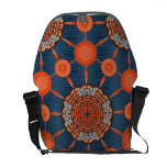 Hedgehog Cactus Mandala Array Messenger Bag