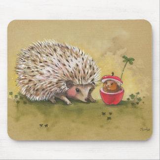 Hedgehog Cloer Afternoon Mousepad