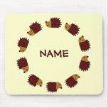 Hedgehog Crossing! Mouse Pad