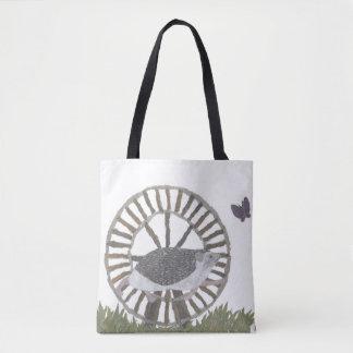 Hedgehog, Cute, Woodland, Animals Tote Bag