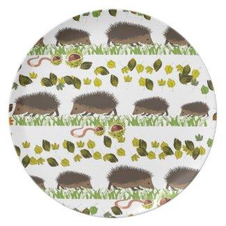Hedgehog Dinner Plate