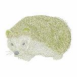Hedgehog Embroidered Shirt