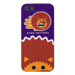 Hand shaped Hedgehog Face Case For iPhone SE/5/5s