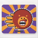 Hand shaped Hedgehog Face Mouse Pad