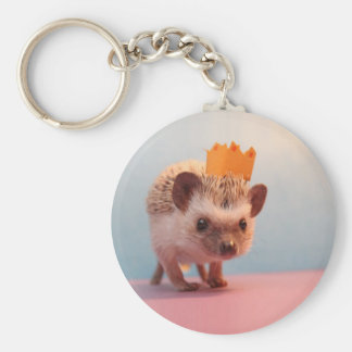 Hedgehog Happiness Keychain