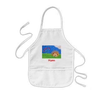 Hedgehog Hearts! Kids' Apron