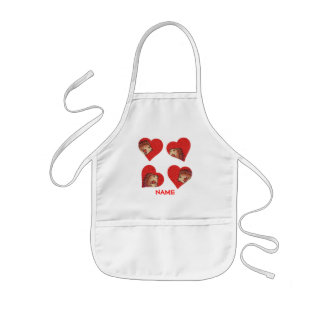 Hedgehog Hearts Paint Smock! Kids' Apron