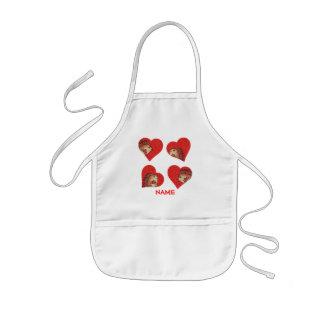 Hedgehog Hearts Paint Smock! Kids' Apron